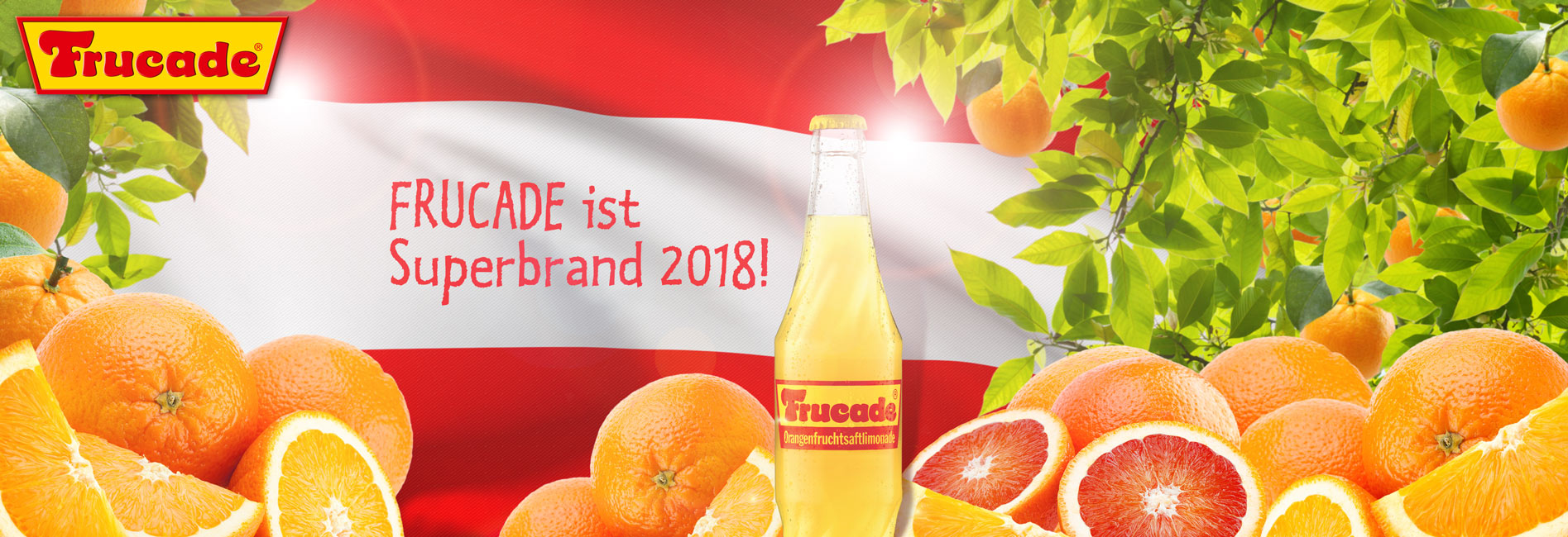 FRUCADE ist Superbrand 2018!!!