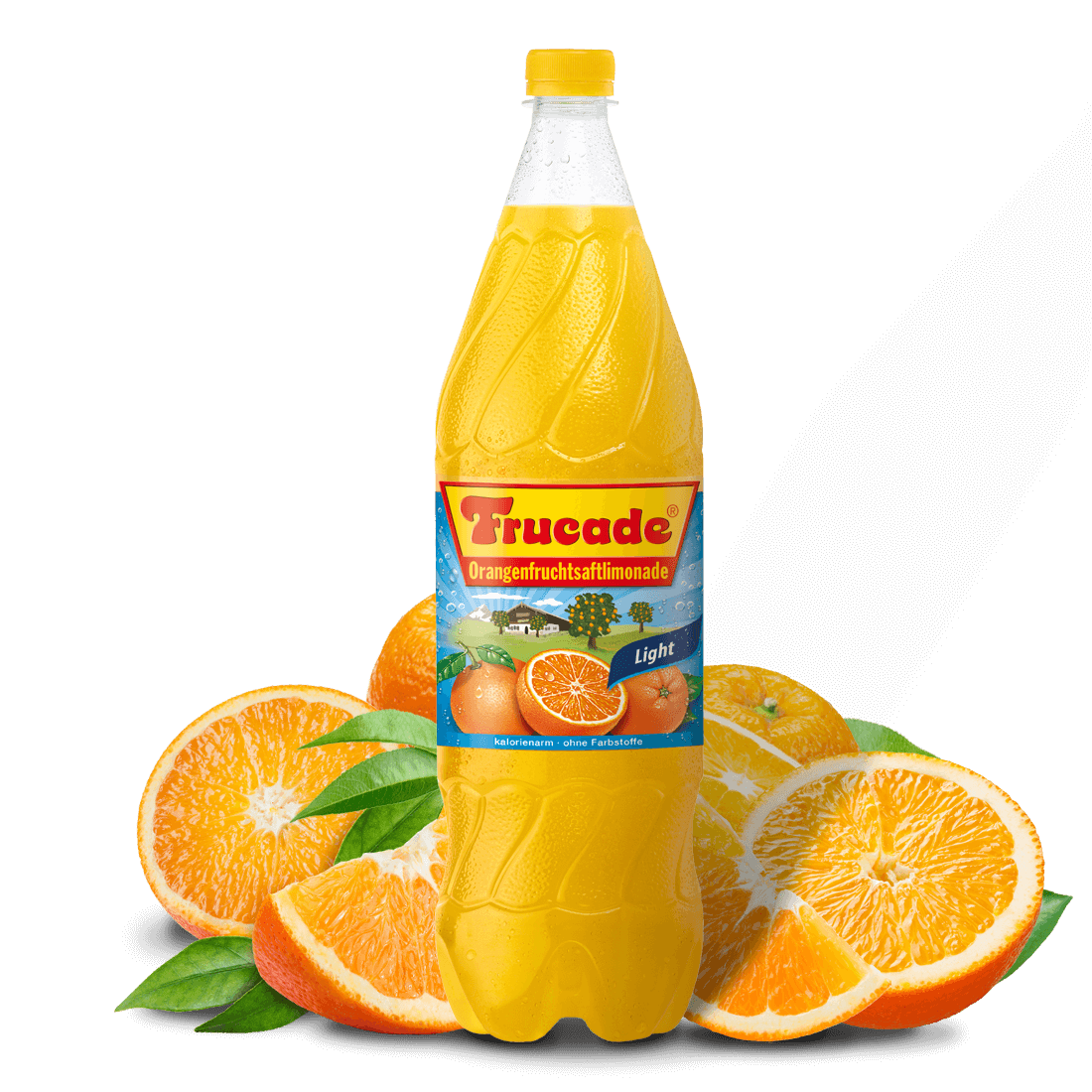 Orangenfruchtsaftlimonade Light