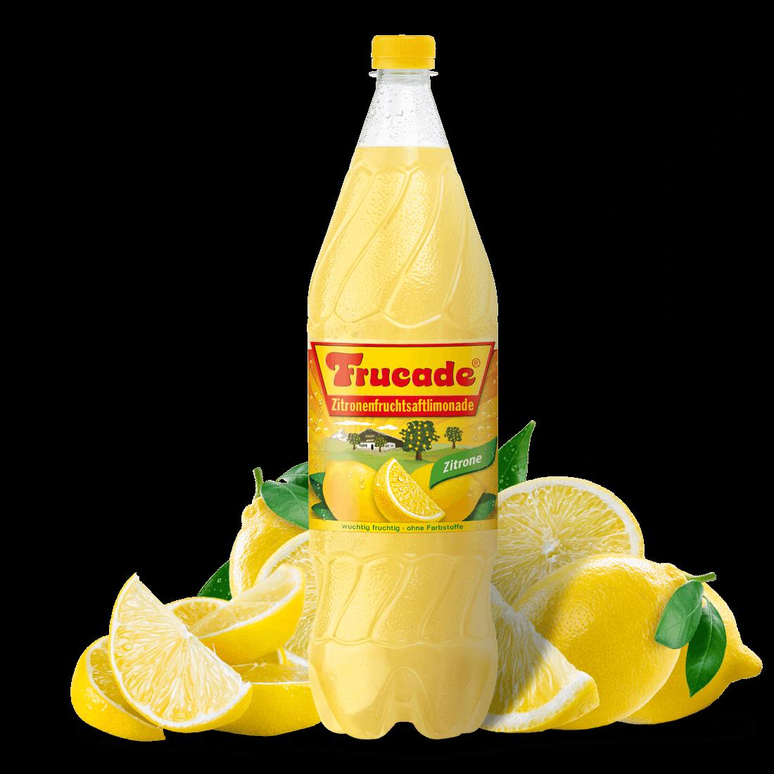 Zitronenfruchtsaftlimonade