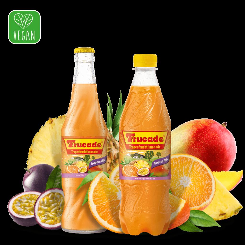 FRUCADE – Tropenfruchtlimonade