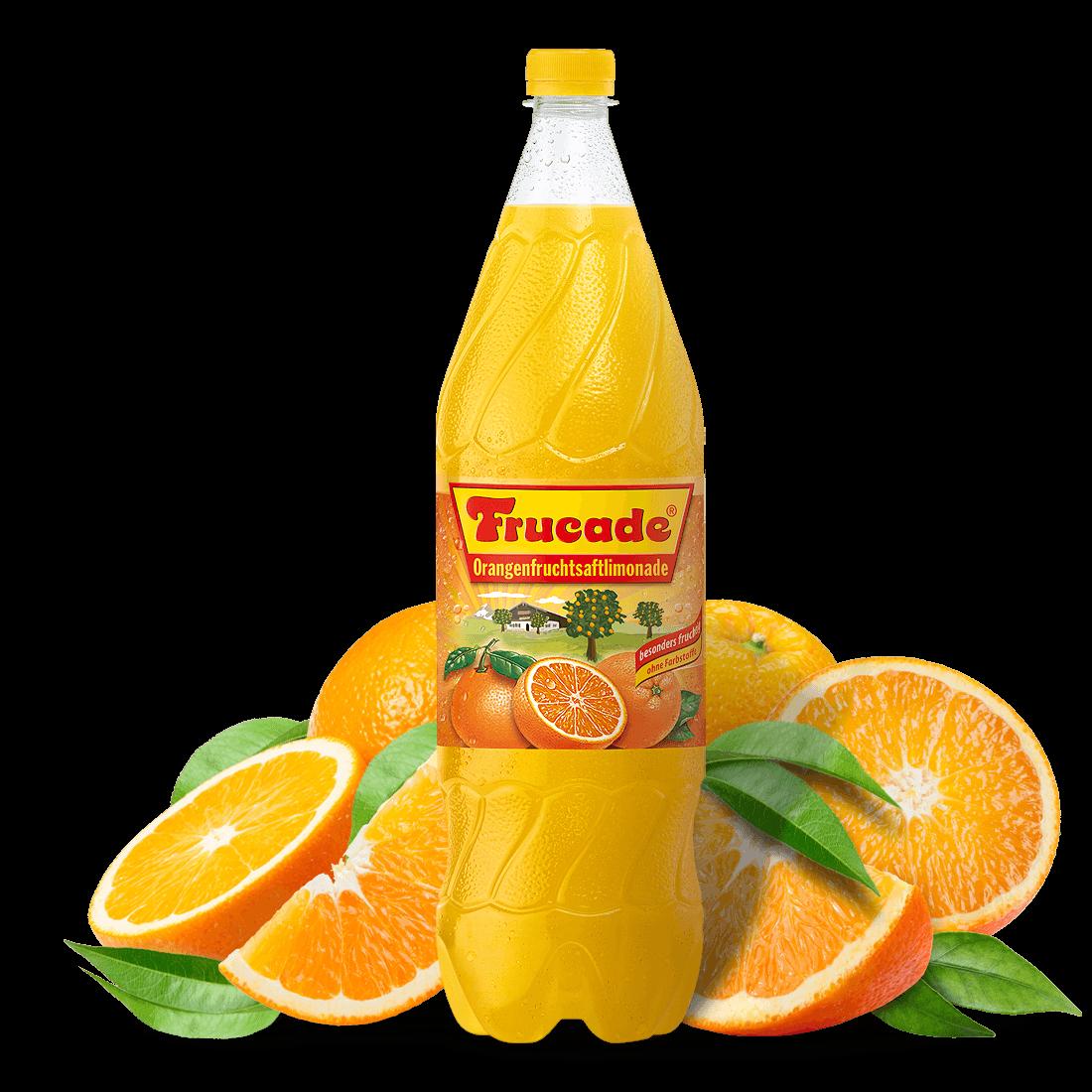 Orangenfruchtsaftlimonade